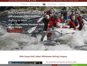 Hells Canyon Raft
